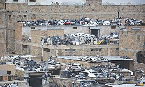 Footprints: Kabul cars in Quetta