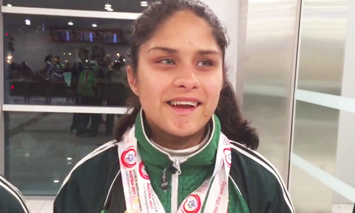 Athletes return after winning 16 medals at Special Olympics World Winter Games