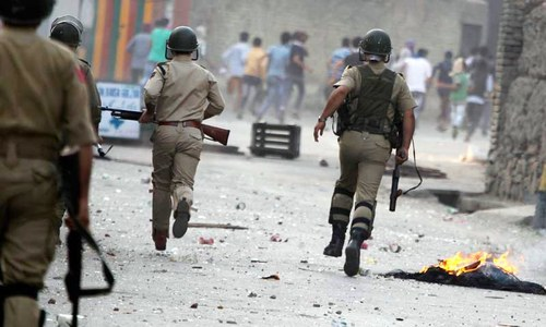 Two suspected militants killed by Indian forces in held Kashmir