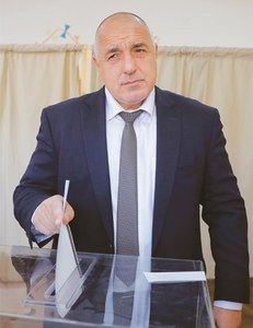 Bulgaria's  ex-PM Borisov bounces back