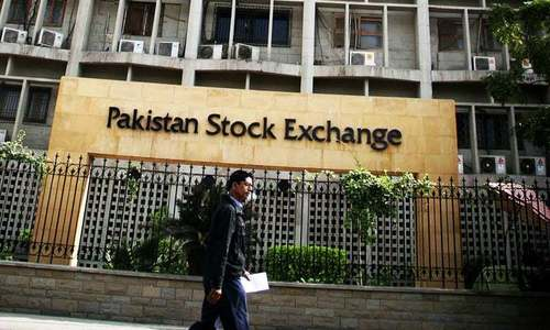 Full day report: KSE-100 starts week in the red