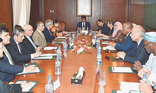 OIC team concerned over HR violations in held Kashmir