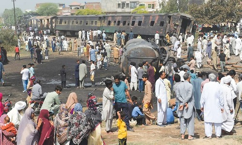 Death toll in Sheikhupura train blaze rises to three