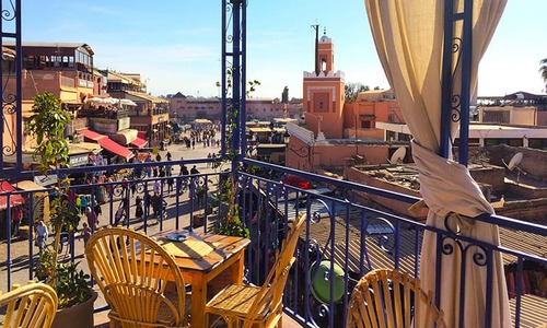 The spices and flavours of Marrakech will tickle your tastebuds
