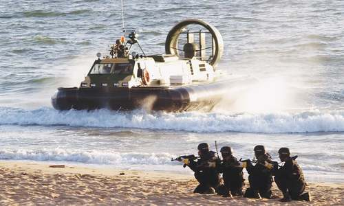 Role of navy commandos highlighted on golden jubilee