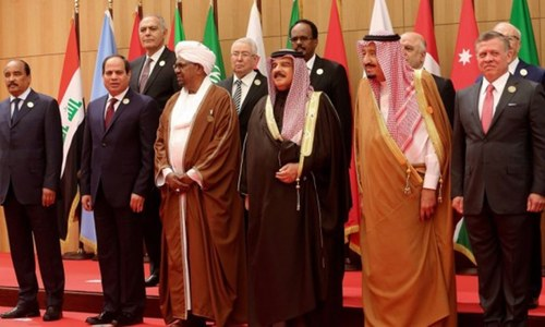 Arab summit relaunches peace plan envisaging Palestinian state