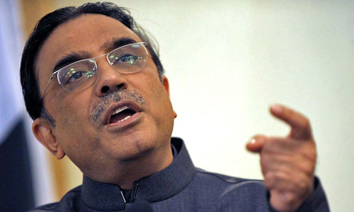 Zardari claims credit for empowering Sharifs