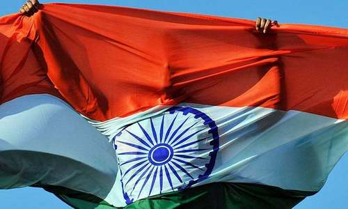 India's tallest flag torn down four times by strong winds