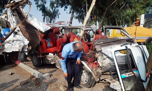 Five killed in Balochistan road accidents