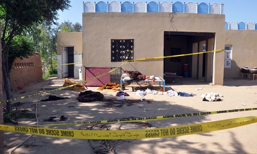 20 killed by shrine custodian in Sargodha: police