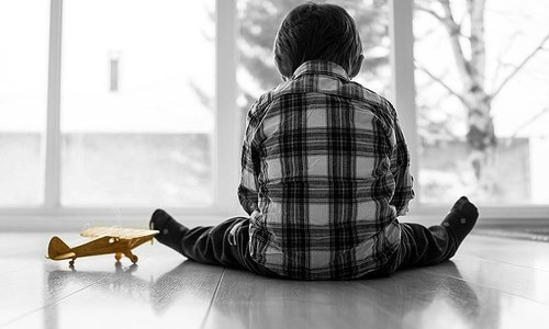 How I stopped hoping for my autistic son to become 'normal'