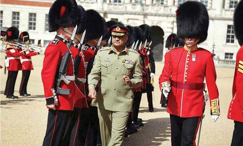 Bajwa holds talks with UK, US officials on Afghan issue