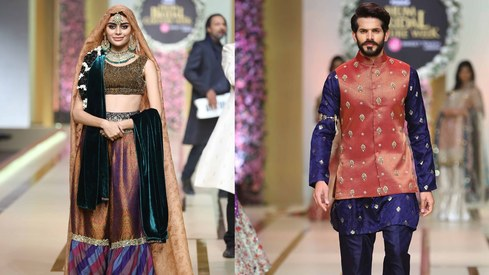 9 looks from Bridal Couture Week we'd never wear