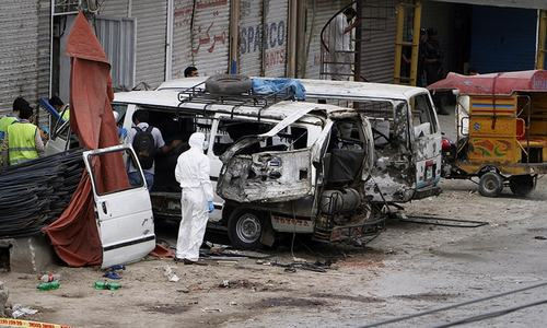 5 armed forces personnel slain in Lahore blast targeting census team
