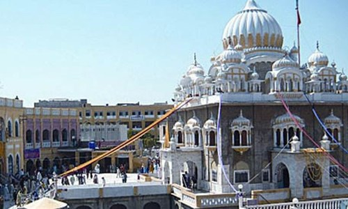 Punjab considers takeover of all shrines