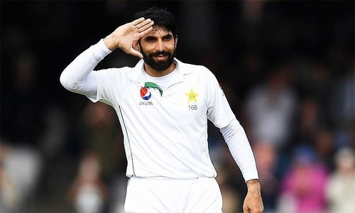 Misbah bids farewell to Test cricket