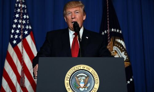 Trump launches missile strikes on Syria after 'chemical' attack