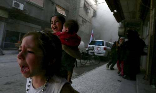 It's time for action on Syria's chemical weapons, not pointing fingers