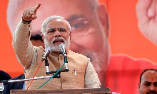 By embracing Hindu extremists, what signal is Modi sending about India's
