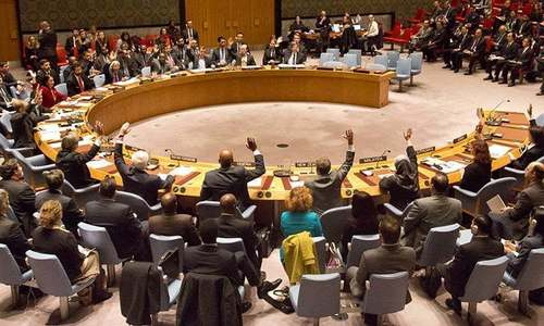 Emergency UNSC meeting after US attack on Syria