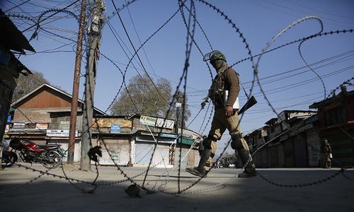 Govt forces kill four 'militants' in fresh wave of violence in India-held Kashmir