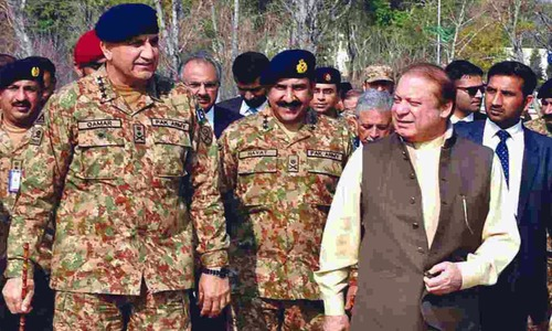 Army chief meets PM Nawaz to discuss national security