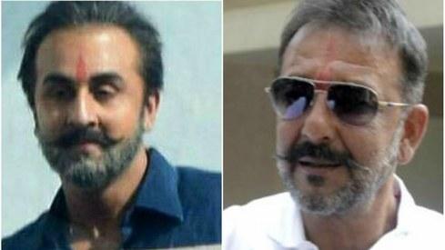 Ranbir Kapoor's first look as an older Sanjay Dutt leaked online