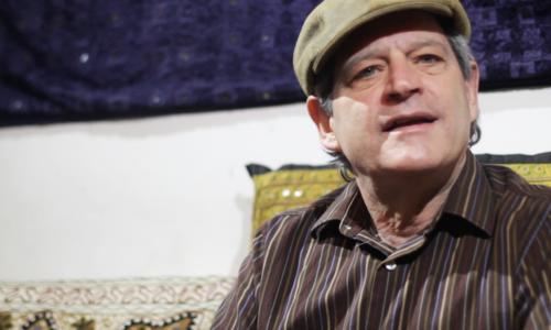 Meet Eric, a New Yorker who plays the tabla, speaks Urdu and loves Noor Jehan