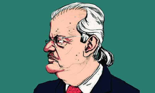Man of law: Raza Rabbani
