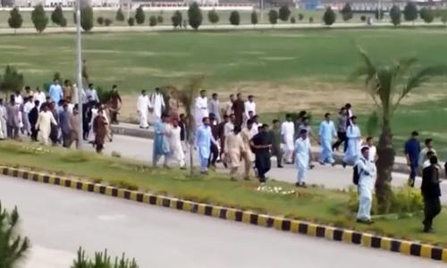 Mardan university takes action against victims; launches probe into 'blasphemous activity'