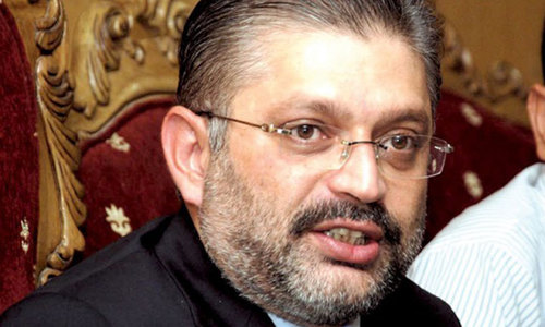 Sharjeel Memon willing to face corruption cases against him