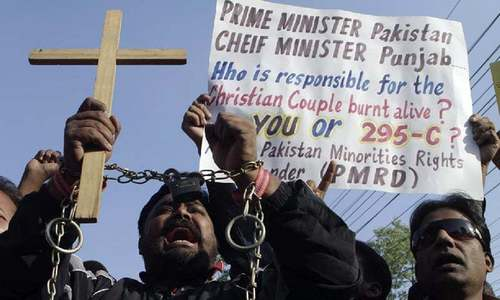 Senators call for amending blasphemy law