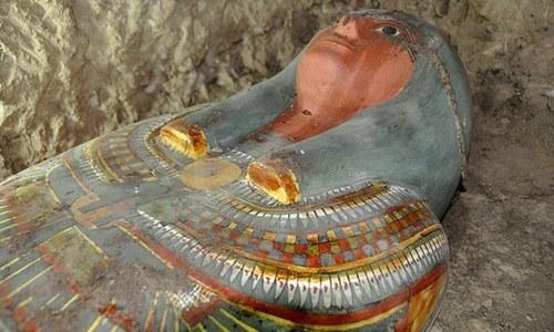 ساڑھے تین ہزار سال پرانی 8 ممیز دریافت