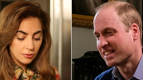 Prince William, Lady Gaga team up on mental health