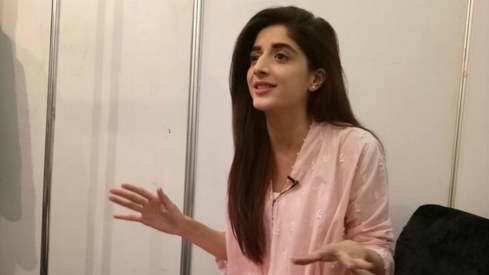 Watch Mawra Hocane prep for her performance at the Lux Style Awards tonight
