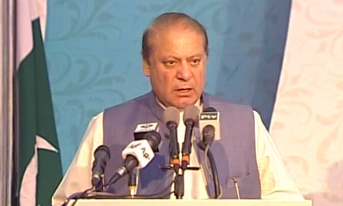 PM Sharif blames poor past governance for country's current energy crisis