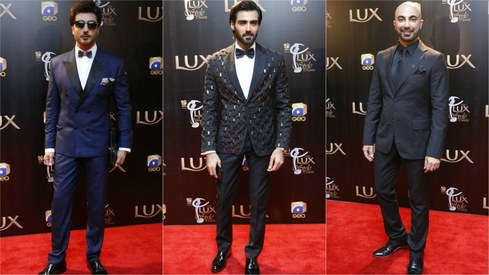 The best menswear looks at the Lux Style Awards 2017