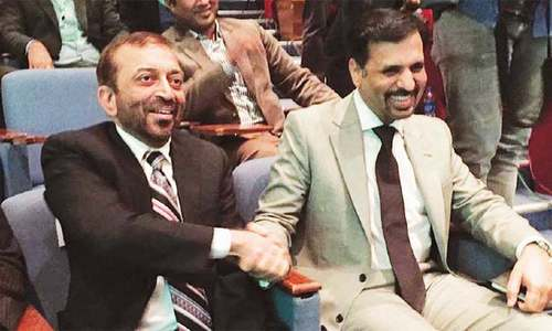 Rivals supporting MQM-P over Karachi protest