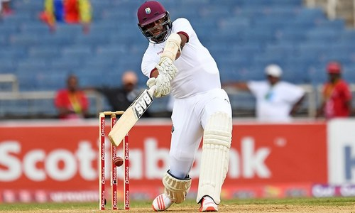 West Indies revival frustrates Pakistan in first Test