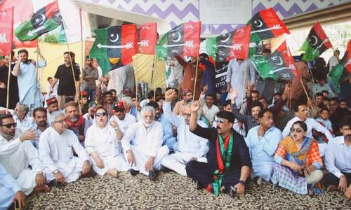PPP launches drive for prime minister's resignation with rallies, sit-ins across Sindh
