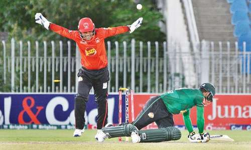 Punjab remain winless after rains ruin tie