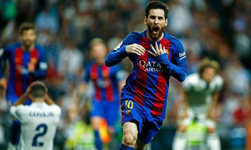 'Best ever' Messi turns tables on Madrid with 500th goal