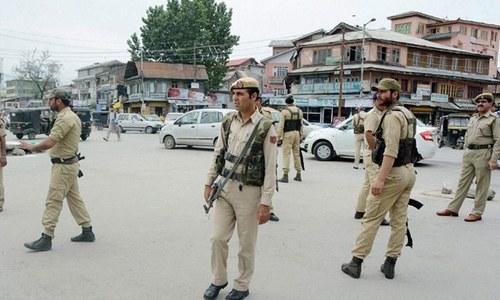 بھارت: کشمیر میں فائرنگ سے سیاسی رہنما ہلاک