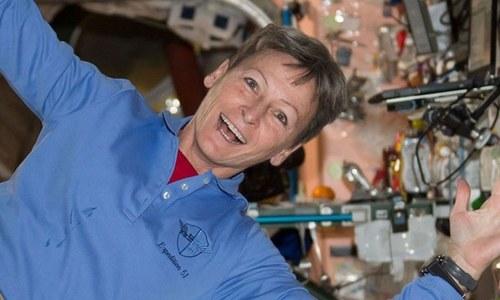 خلا میں زیادہ عرصے تک رہنے والی دنیا کی پہلی خاتون