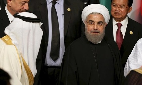Countries supporting militants cannot fight them, says Iranian president