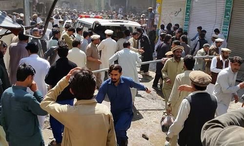 14 killed as landmine blast hits van carrying census workers in Kurram