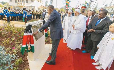 Campus of Dawoodi Bohra community's institute in Nairobi inaugurated