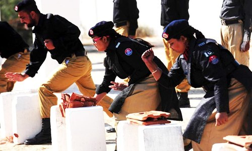 Women make up less than 2pc of country's police force: report