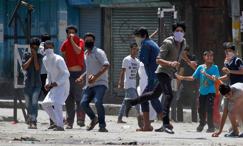 Social media blocked in India-held Kashmir after clashes