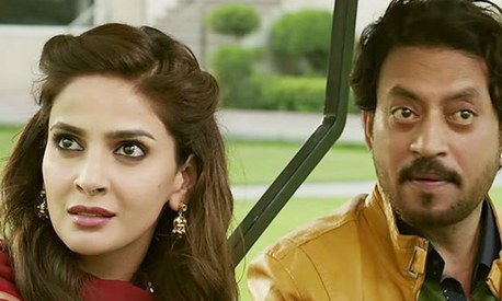 How did Saba Qamar get cast for Hindi Medium?